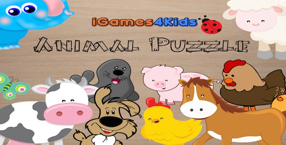 Puzzle Animals Cross-platform - CodeCanyon Item for Sale