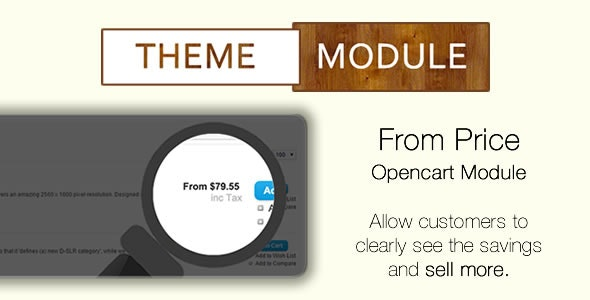 From Price Module - CodeCanyon Item for Sale