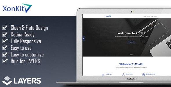 XonKit - LayersWP StyleKit - CodeCanyon Item for Sale