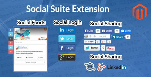 Magento Social Suite Extension