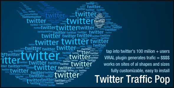 Twitter Traffic Pop - CodeCanyon Item for Sale