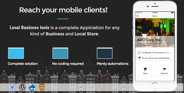 Local Business Ionic - Full Application - CodeCanyon Item for Sale