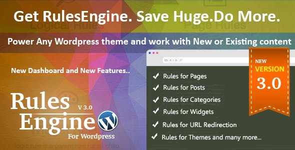 RulesEngine - WordPress Access and Content Controller