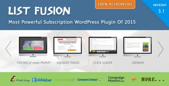 List Fusion - Best PopUp and Lead Generation Plugin