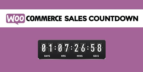 WooCommerce Sales Countdown        Nulled