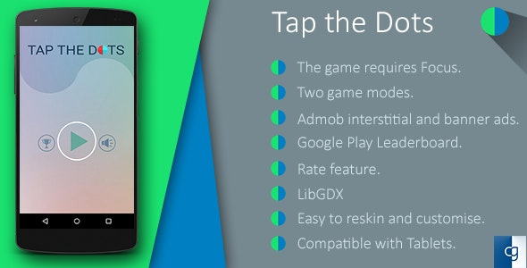 Tap the Dots - CodeCanyon Item for Sale