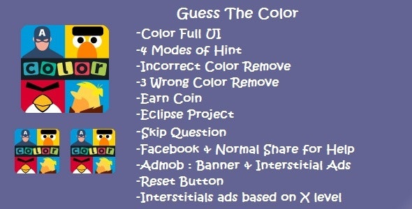 Guess The Color - CodeCanyon Item for Sale