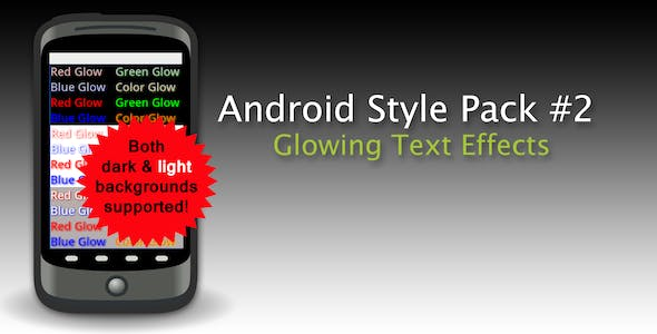 Text Styles Pack #2 for Android