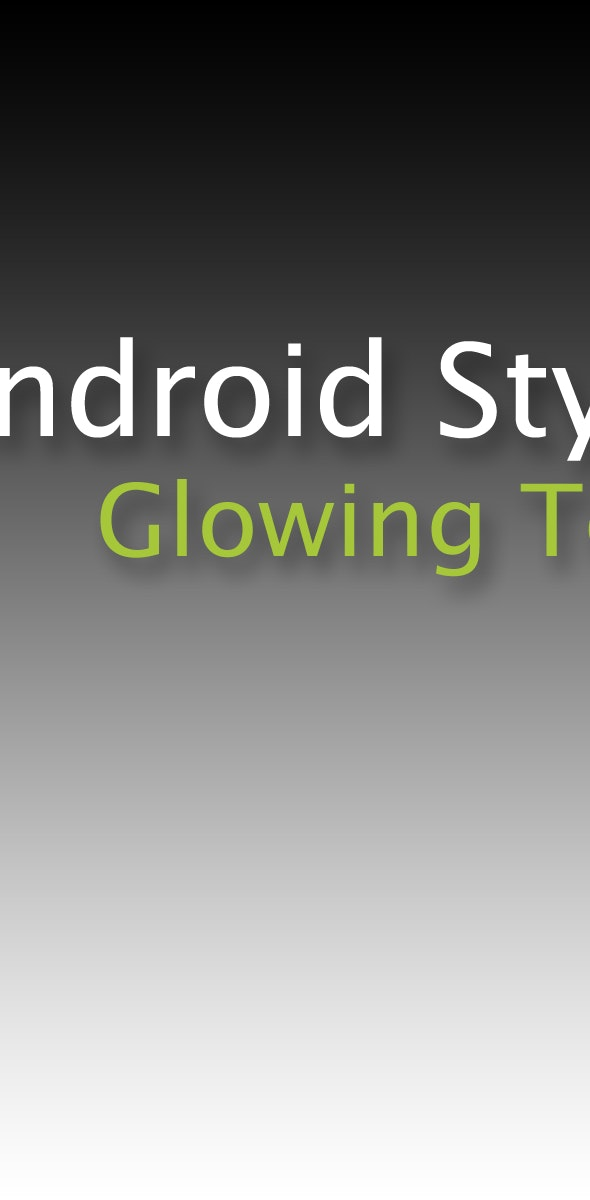 Text Styles Pack #2 for Android - CodeCanyon Item for Sale