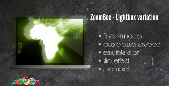 ZoomBox Lightbox Variation - jQuery powered