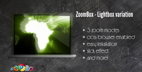 ZoomBox Lightbox Variation - jQuery powered - CodeCanyon Item for Sale