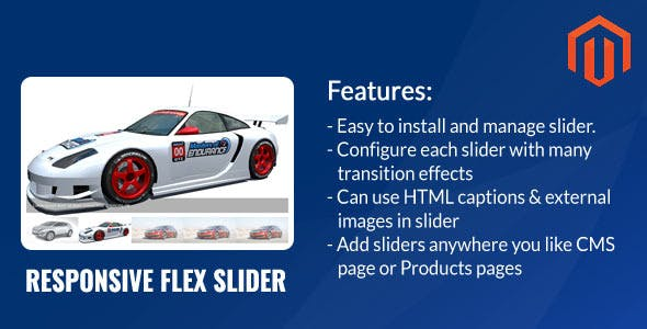 Responsive Flex Slider Magento Extension