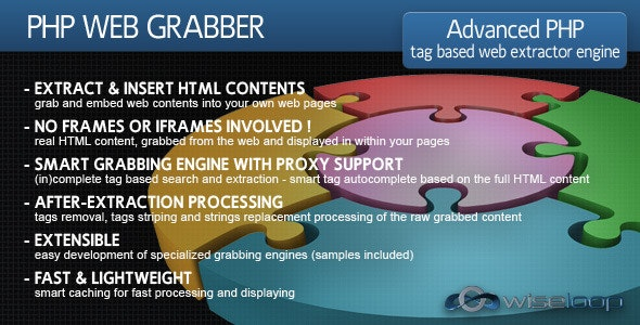 PHP Web Grabber - CodeCanyon Item for Sale