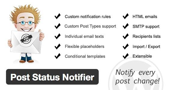 Post Status Notifier        Nulled