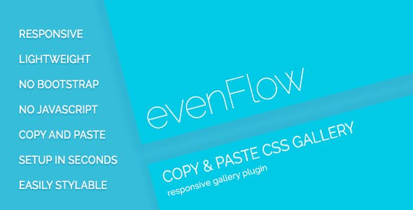 evenFlow - Responsive Image Gallery