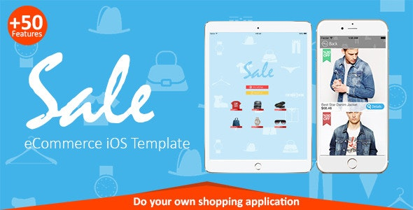 Sale - eCommerce iOS Template - CodeCanyon Item for Sale