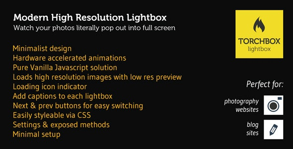 Torchbox Lightbox for Images - CodeCanyon Item for Sale