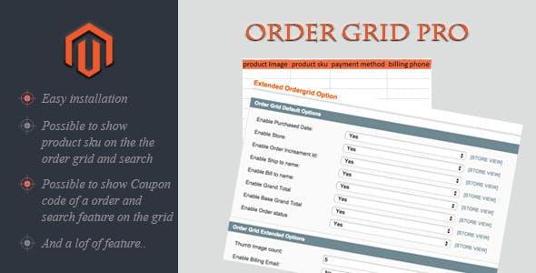 Order Grid Pro