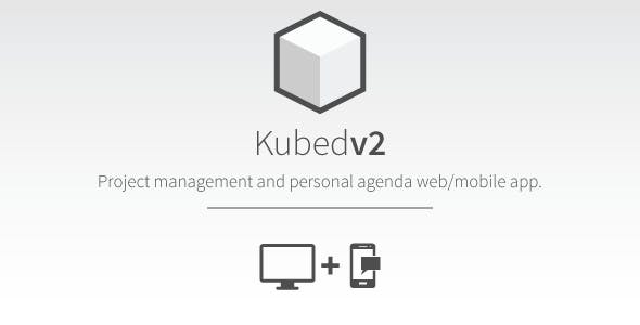 Kubed Project Management Web & Mobile App