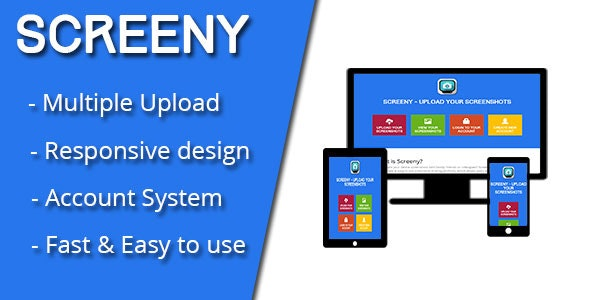 Screeny - Screenshot Sharing Script - CodeCanyon Item for Sale