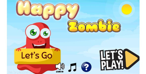 happy zombie + admob