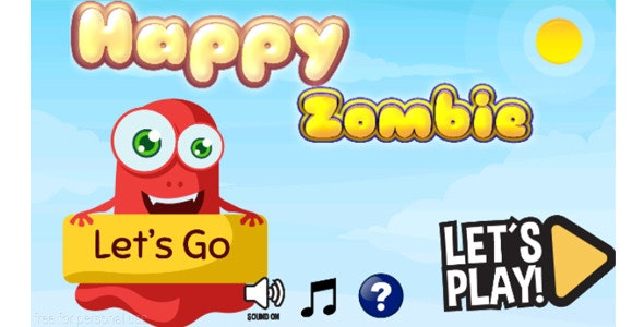 happy zombie + admob - CodeCanyon Item for Sale