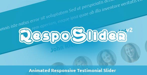 RespoSlider - Responsive Testimonial Slider
