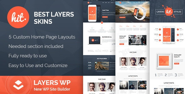 HIT - LayersWP WordPress Style Kit - CodeCanyon Item for Sale