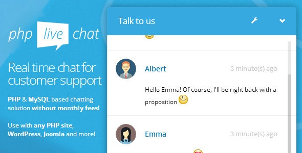 PHP Live Support Chat - CodeCanyon Item for Sale