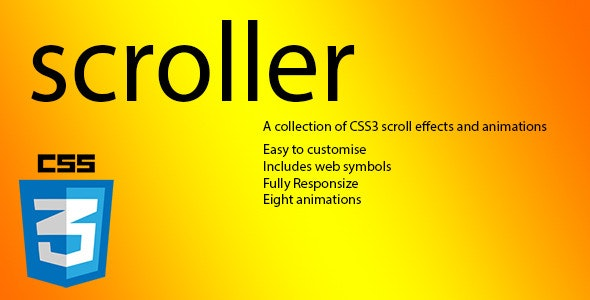 Scroller - CodeCanyon Item for Sale
