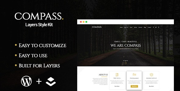 Compass - Layers Style Kit - CodeCanyon Item for Sale