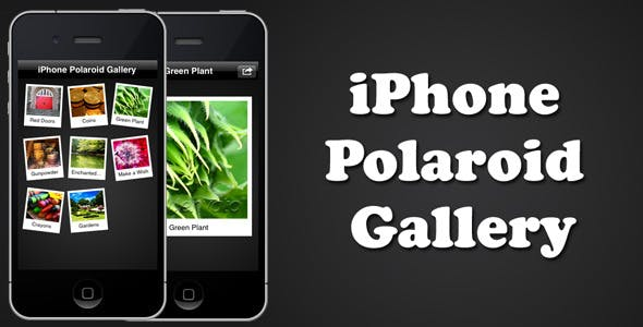 iPhone Polaroid Gallery