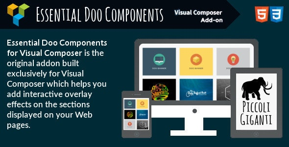 Essential Doo Components for Visual Composer - CodeCanyon Item for Sale