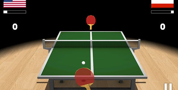 Ping Pong 3D with Admob