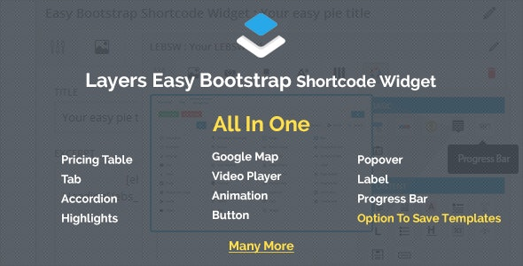 Layers - Easy Bootstrap Shortcodes Widget - CodeCanyon Item for Sale