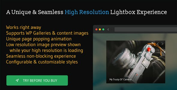 Torchbox Image Lightbox for WordPress