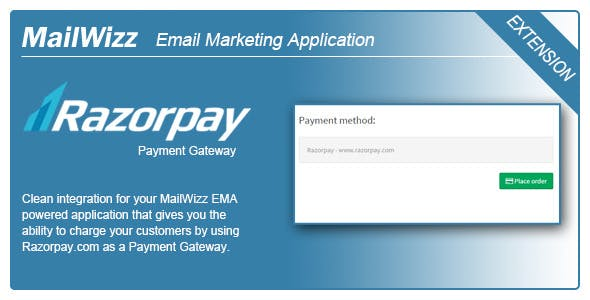 MailWizz EMA integration with Razorpay.com