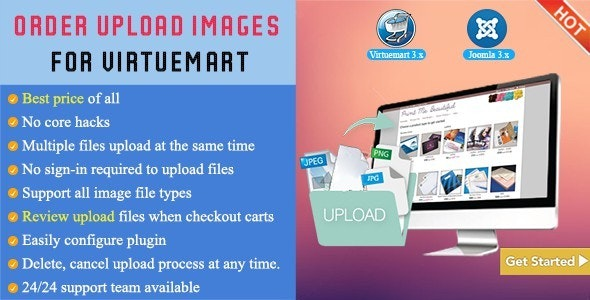 Order Upload Images For Virtuemart - CodeCanyon Item for Sale