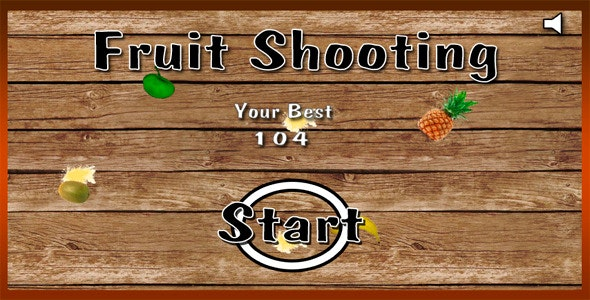 Fruit Shooting - CodeCanyon Item for Sale