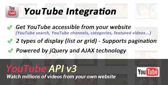 YouTube API Ultimate Integration