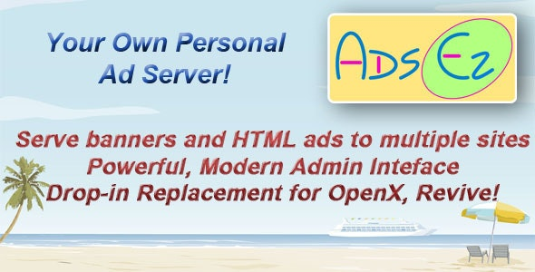 Ads EZ - Personal Ad Server - CodeCanyon Item for Sale