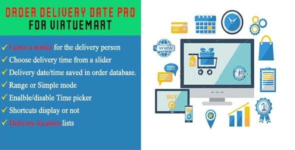 Order Delivery Date Pro For Virtuemart - CodeCanyon Item for Sale