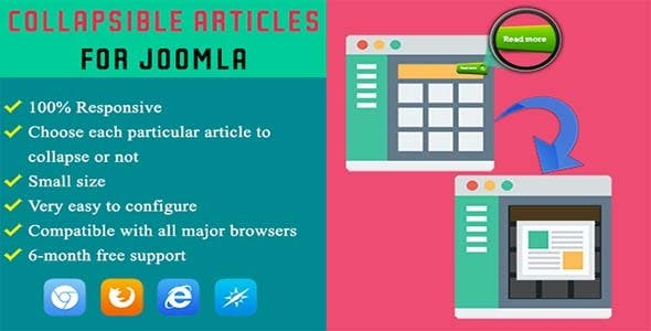 Collapsible Articles for Joomla