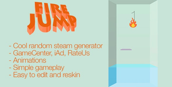 Fire Jump - CodeCanyon Item for Sale