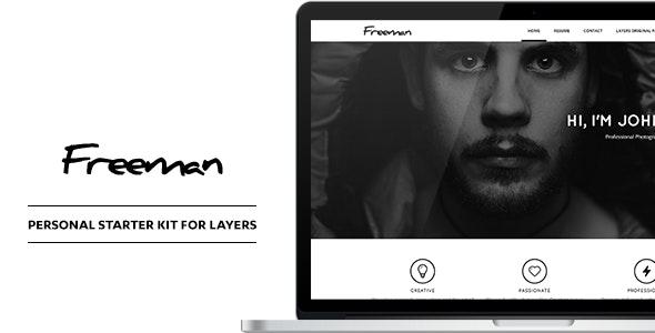 Freeman - Personal CV & Resume Style Kit - CodeCanyon Item for Sale