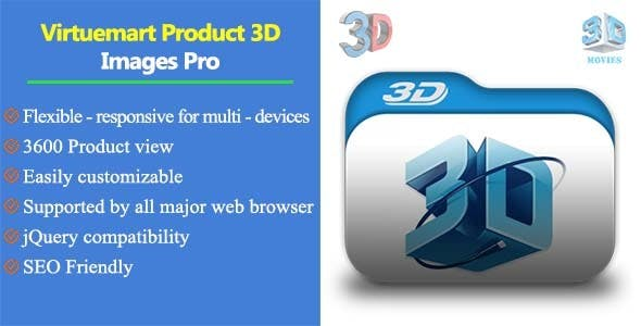 Virtuemart Product 3D Images Pro