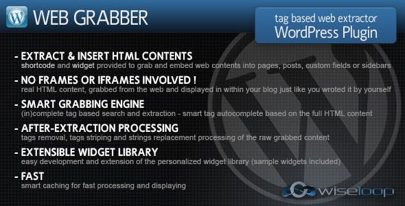 Content Grabber Plugins, Code & Scripts from CodeCanyon