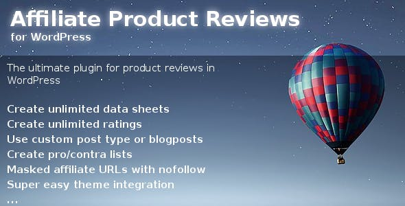 Affiliate Product Reviews