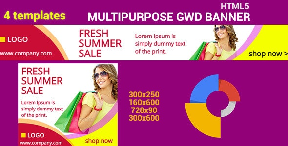HTML5 GWD Summer Sale - 07 - CodeCanyon Item for Sale