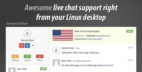Awesome Live Chat Desk Linux